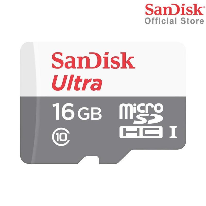 Thẻ Nhớ MicroSDHC SanDisk Ultra 16GB 533x 80MB/s SDSQUNS-016G-GN3MN