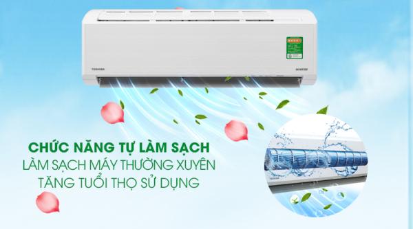 Bảng giá Máy lạnh Toshiba Inverter 1 HP RAS-H10D2KCVG-V/ RAS-H10D2CVG-V