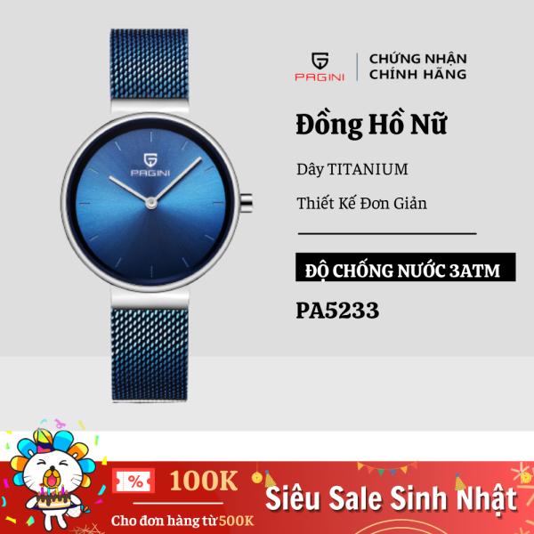 Nơi bán Đồng Hồ Nữ PAGINI  Sang Trọng Thời Trang - Dây Titanium Cao Cấp
