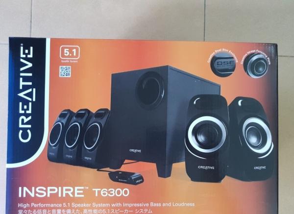Giá Loa Creative Inspire T6300 5.1 (Đen)