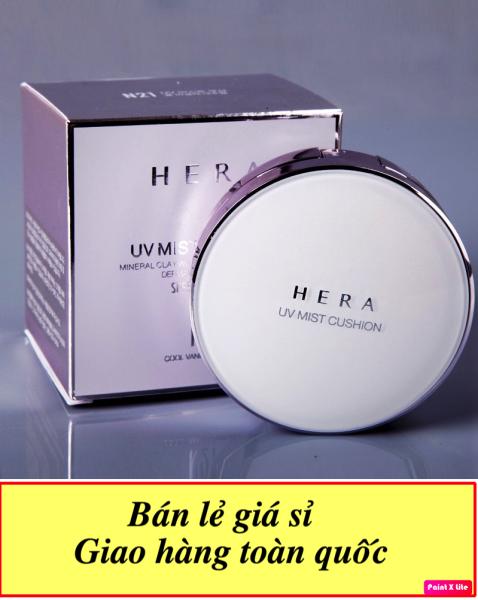 [CHUYÊN SỈ] Combo 10 Phấn nước thần thánh chống nắng kiềm dầu Hera UV Mist tặng kèm lõi thay thế - chất phấn siêu mịn siêu thấm giá rẻ