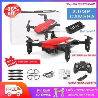 Flycam mini siêu nhỏ Giá Rẻ, Flycam Mini gấp gọn, Máy Bay camera Điều Khiển Từ Xa bằng Wifi 720P,Động Cơ Mạnh Mẽ, Camera Chống Rung 4 trục, quay phim 4k ( xiaomi. fimi A3. mi drone 4k, hubsan zino, mavic air, dji spark) thumbnail