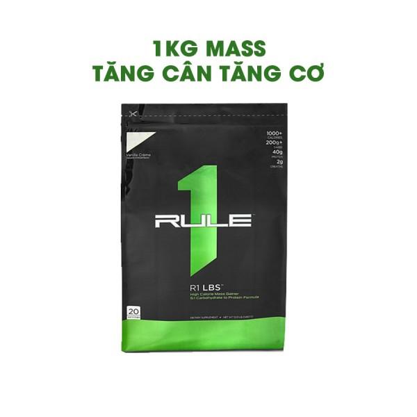 1KG SỮA TĂNG CÂN TĂNG CƠ CHẤT LƯỢNG - RULE1 MASS GAINER
