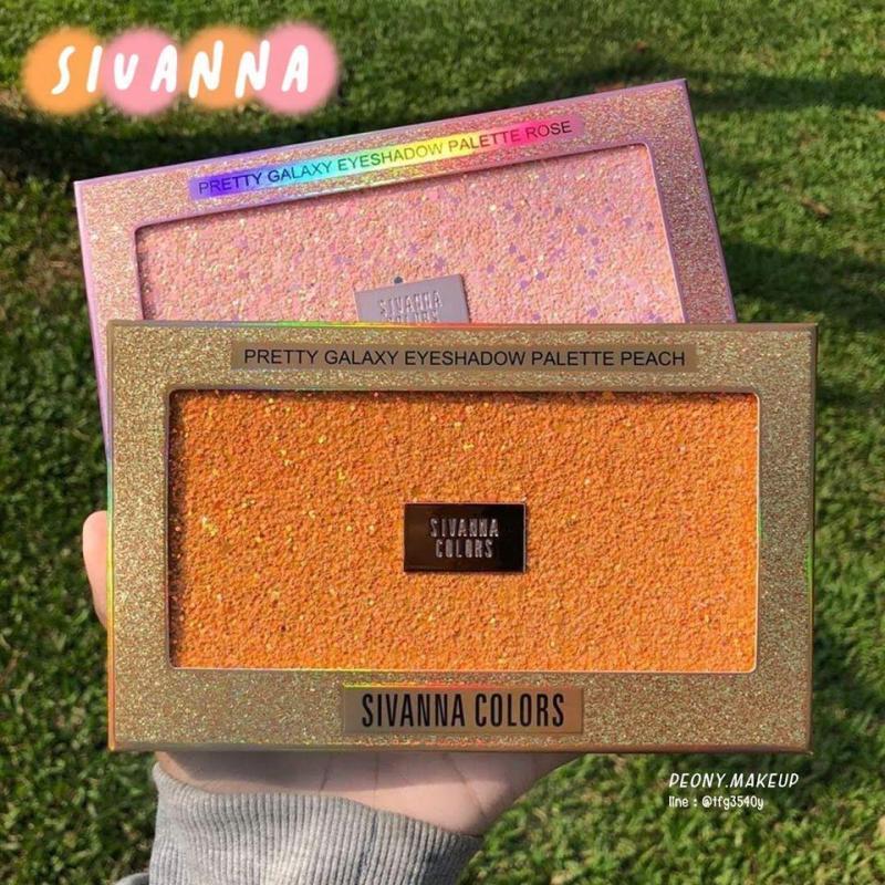 Bảng Phấn Mắt Sivanna Colors Pretty Galaxy 18 ô cao cấp