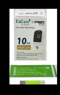 Que thử Axit Uric (gout) dành cho Máy đo đa năng Facare 5 trong 1 FC-M168 (TD-4216) thumbnail