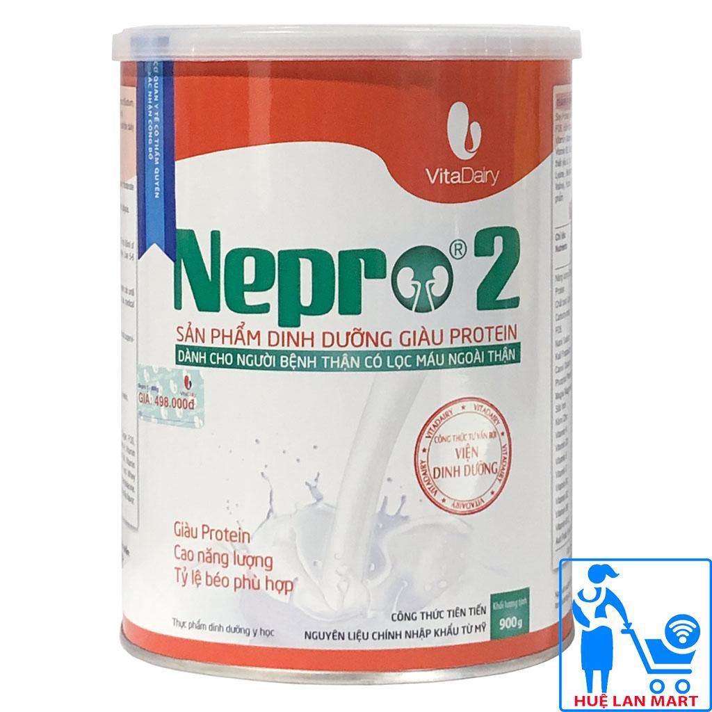 [CHÍNH HÃNG] Sữa Bột Vitadairy Nepro 2 - Hộp 900g (Dành cho người bệnh thận có lọc máu ngoài thận)