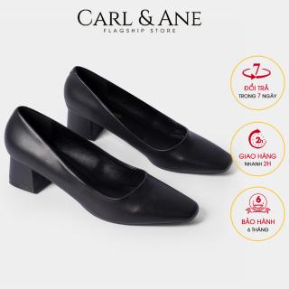 Carl & Ane - Giày cao gót thời trang nữ bít mũi kiểu dáng cơ bản cao 5cm CP004 (BA) thumbnail
