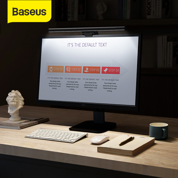 Bảng giá Baseus LED Screenbar Light Computer Desk Lamp Touch Control Stepless Dimming Hanging Light For Home Office LCD Monitor Lamp Study Eye Protection Reading Light Phong Vũ