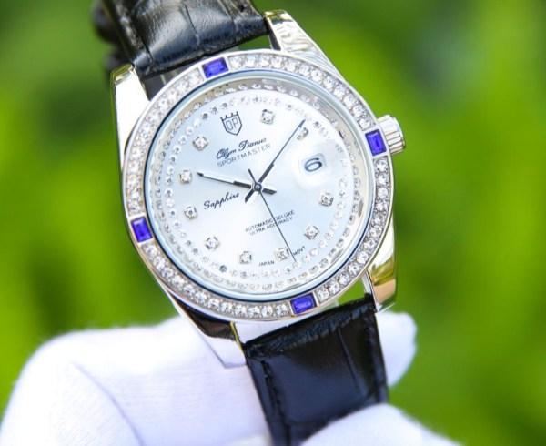 Đồng hồ nam Olym Pianus máy nhật sang trọng đính đá bán chạy