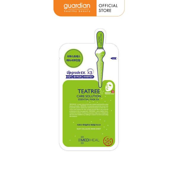 Mặt nạ chứa tinh chất trà xanh ngăn ngừa mụn Mediheal Teatree Care Solution Essential Mask EX. 24ml