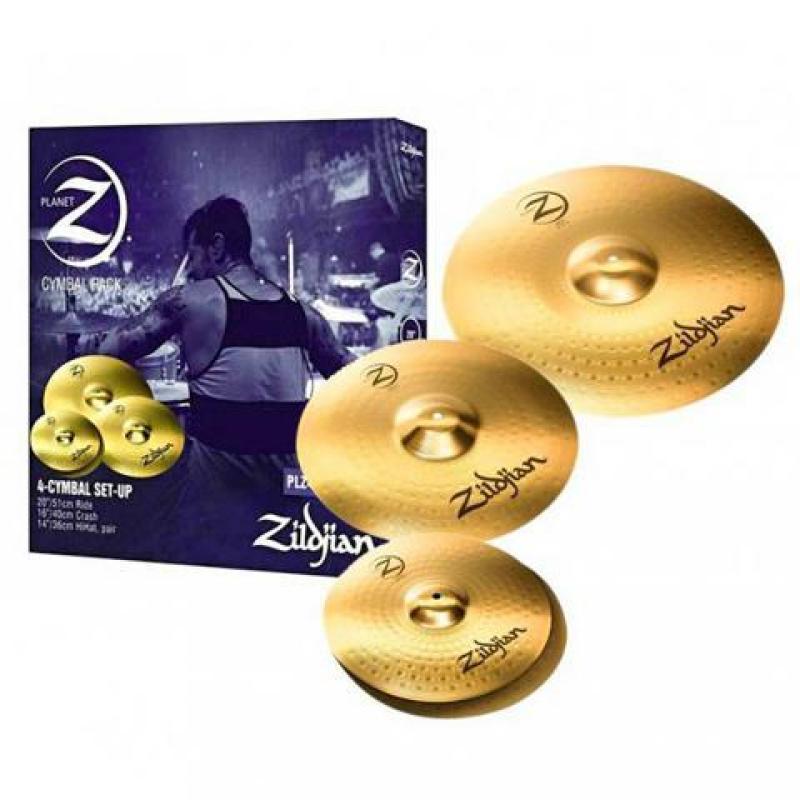 Bộ lá Cymbal Zildjian Planet PLZ4PK (Tặng kèm 1 đôi dùi Zildjian)