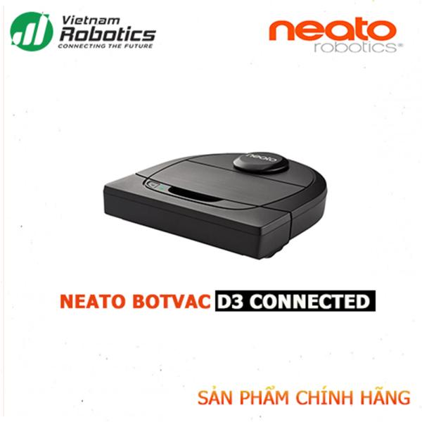 Robot hút bụi Neato D3 Connected - NK&PP Chính Hãng, bảo hành 24 tháng