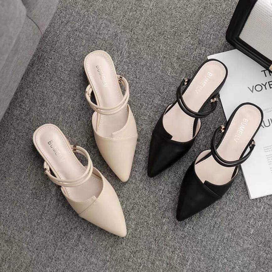 Giày Sandal nữ đi được 2 kiểu sục và sandal (kèm clip thật) giá rẻ