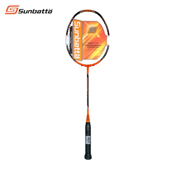 Bảng giá Vợt cầu lông Sunbatta BRAVE 900 cam đen, dành cho người mới bắt đầu chơi