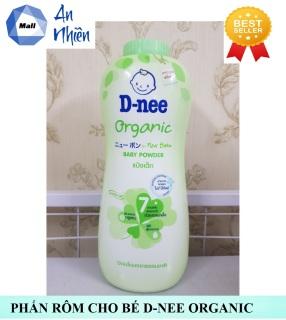 Phấn Rôm Cho Bé Dnee Organic 400g Thái Lan (Mẫu mới) thumbnail