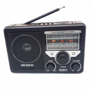 (MÁY CASSETTE New)Đài FM, Máy Cassette Radio thế hệ mới, Thẻ Nhớ, USB Sony SW-999AC, Nghe FM Mọi Lúc Mọi Nơi Mà K Cần Nguồn Điện Lưới, Nhiều Kênh, Tần Số Phát Sóng, Tin Tức Thời Sự, Nghe Nhạc, Pin Khủng, Dành Cho Mọi Lứa Tuổi thumbnail