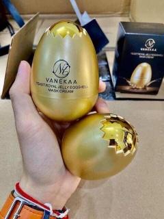 Mặt nạ quả trứng vanekaa yeast royal jelly egg shell mask cream thumbnail