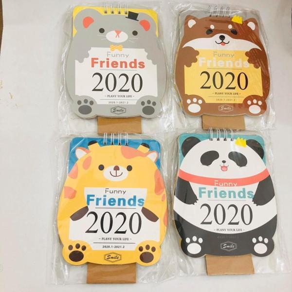 Mua Lịch Để Bàn Mini 2020 các hình cute