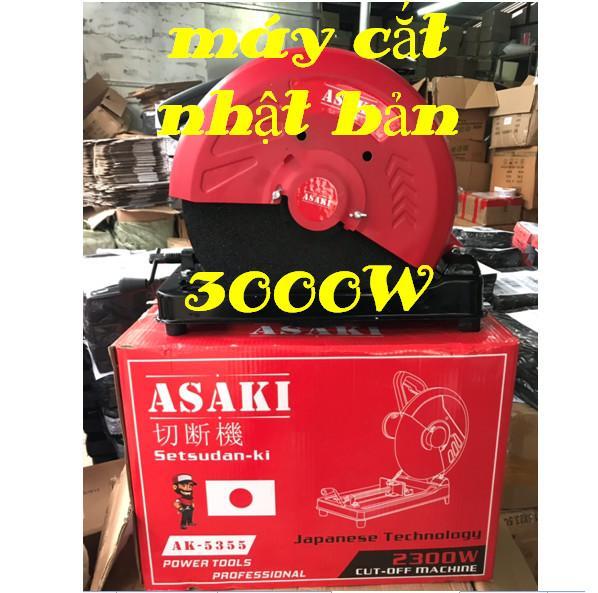 MÁY CẮT SẮT BÀN Asaki 3000w  may cat ban