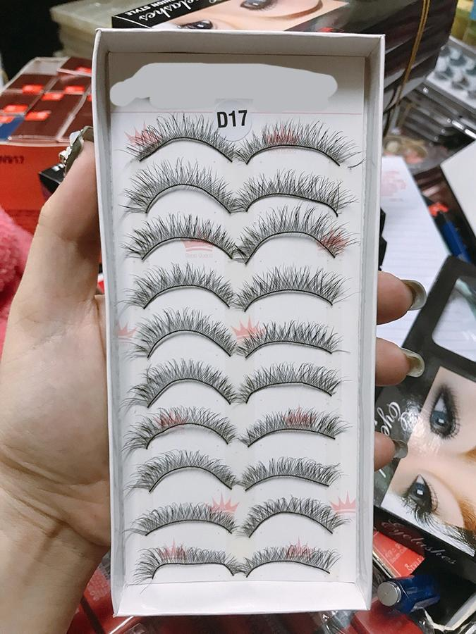 Mi giả Eyelashes Fashion Style 10 cặp (Số D17) tốt nhất