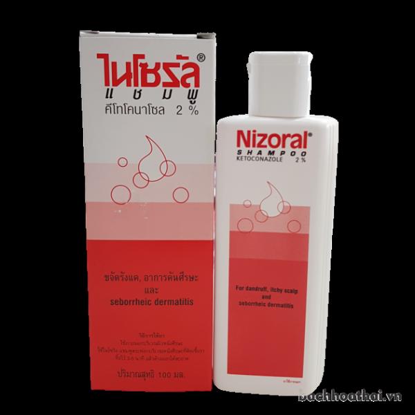 Dầu gội ṫrị ǥàu, ņấm Nizoral Shampoo Ketoconazole 2% - 50ml