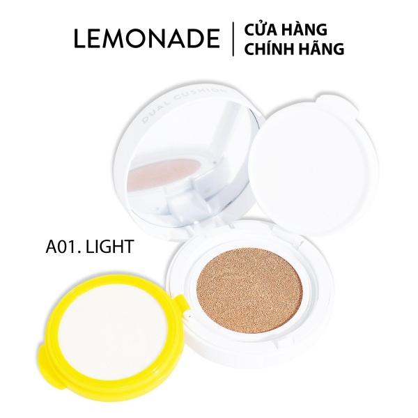 Phấn nước kiềm dầu Lemonade Matte Addict Dual Cushion 16g nhập khẩu