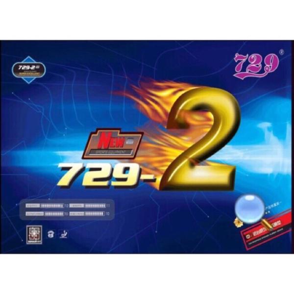 Bảng giá Mặt bóng bàn 729-2 chính hãng( 2 màu đen và đỏ)