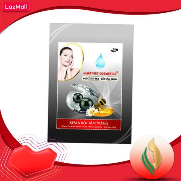 Tắm Trắng Nhật Việt Cosmetics, Ngọc Trai Đen, Sữa Ong Chúa (150g) tốt nhất