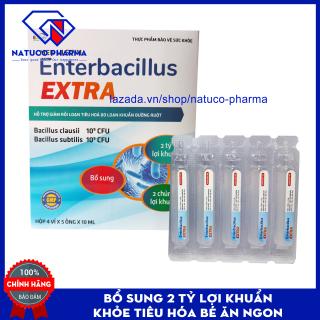 Men vi sinh cho bé giảm rối loạn tiêu hóa Enterbacillus- HSD 2023 - Hộp 20 ống bổ sung 2 tỷ lợi khuẩn - chuẩn GMP Bộ y tế thumbnail