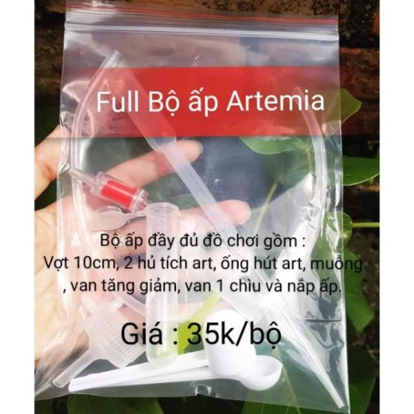 Bộ ấp full Artemia - dụng cụ ấp Artemia - Guppy Xanh mini (nắp-van-dây) cam kết hàng đúng mô tả chất lượng đảm bảo