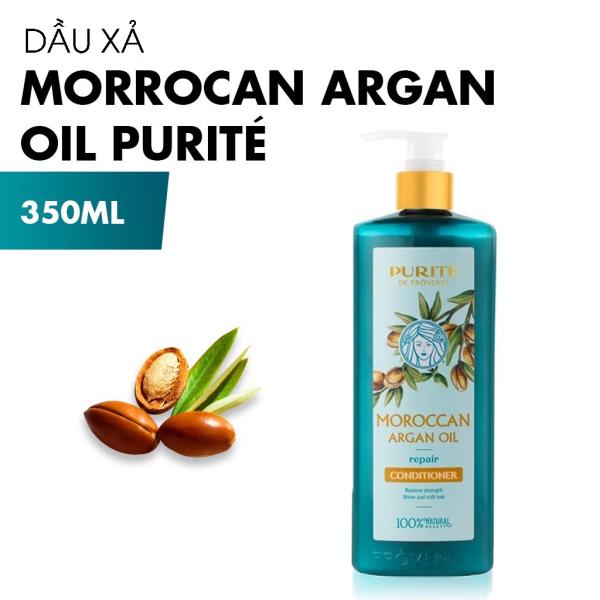 Dầu xả PURITÉ Morrocan Argan Oil Phục Hồi Tóc 350ml