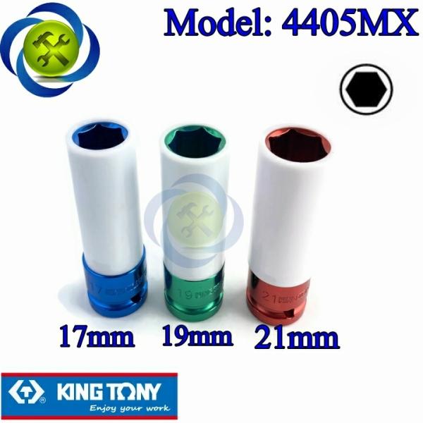 Bộ tuýp tháo mâm xe 1/2 Kingtony 4405MX loại 6 cạnh