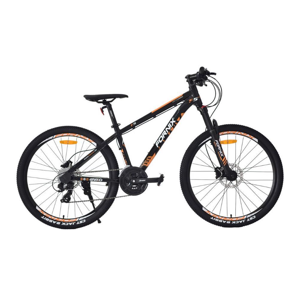 Mua Xe đạp địa hình F5 màu cam đen sôi động