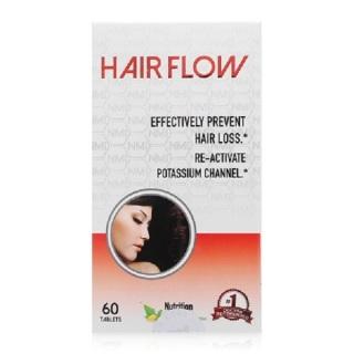 Hair Flow hộp 60 viên của Mỹ giúp mọc tóc nhanh, chống rụng tóc thumbnail