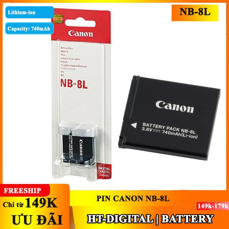 Hot Deal Khi Mua Pin Máy ảnh Canon NB-8L
