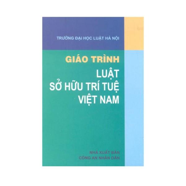 Mua Sách - Giáo trình luật sở hữu trí tuệ Việt Nam