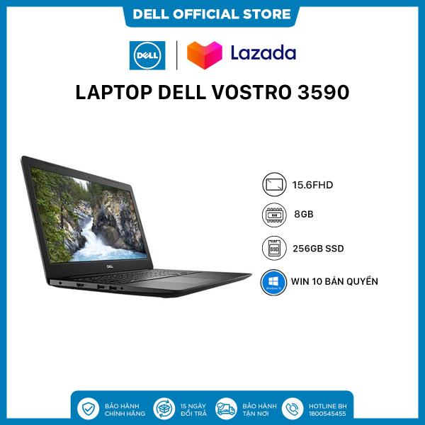 Bảng giá [SIÊU SALE VẪN NHIỆT_TRẢ GÓP 0%] Laptop Dell Vostro 3590 (GRMGK2) Core i7 10510U  15inch FullHD   Ram 8GB   256GB SSD   VGA AMD 610 2GB   Win 10 Bản Quyền Phong Vũ