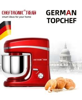 (Freeship) Máy nhào bột Cheftronic SM-986 cao cấp 7L công suất lớn 1800W- Thương hiệu của Đức- Máy nhào bột trộn topping salad, máy đánh kem- Bảo hành 1 năm thumbnail