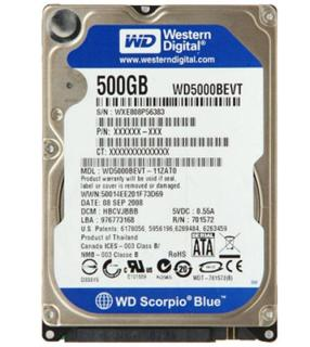 Ổ cứng laptop 500GB HGST Seagate Western 2.5 inch thumbnail