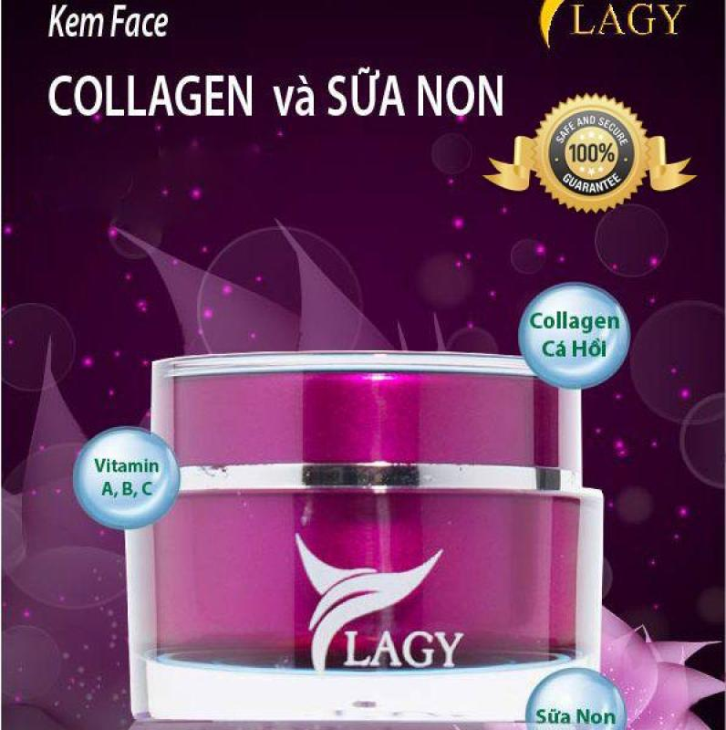 Kem face Collagen và Sữa non YLAGY, dưỡng da, chống lão hóa, chống nhăn