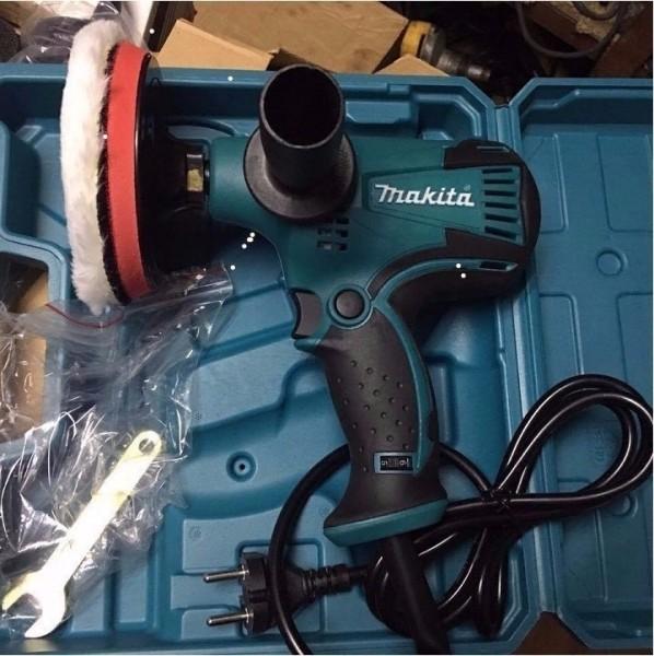 Máy đánh bóng Makita GV6010 600W - 6 cấp độ - Máy chà nhám đĩa MAKITA - Đánh bóng xe hơi, xe máy