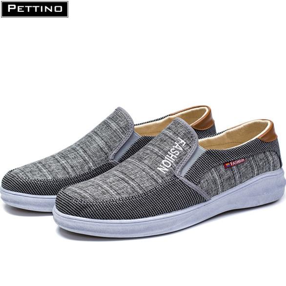Giày Lười Vải Nam thoáng khí mát mẻ phù hợp với mọi kiểu trang phục Pettino LLKL03 giá rẻ
