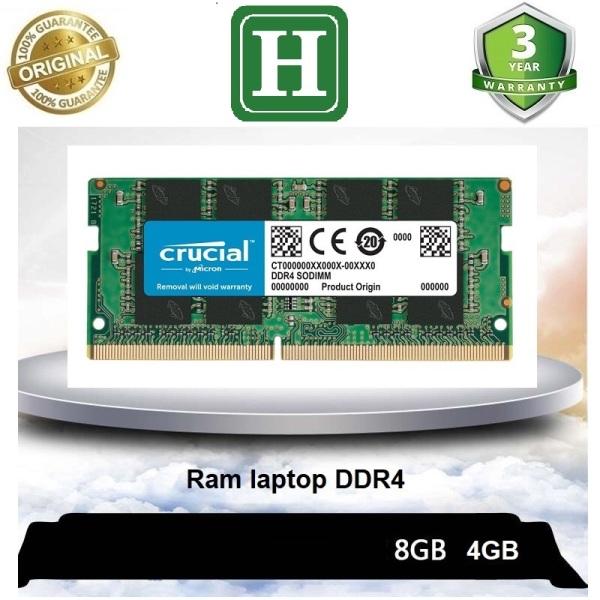 Bảng giá Ram laptop DDR4 4gb, 8gb bus 2666, 2400, 2133 và các loại khác, bảo hành 3 năm Phong Vũ