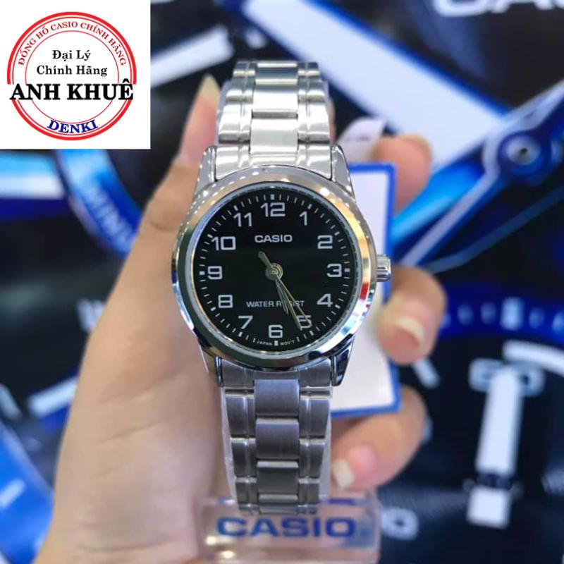 Đồng hồ nữ dây kim loại Casio Standard Anh Khuê LTP-V001D-1BUDF
