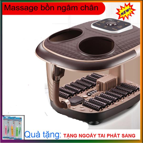 Máy Massage bồn ngâm chân cao cấp- An toàn và tiện lợi- món quà sức khỏe tặng người thân và gia đình
