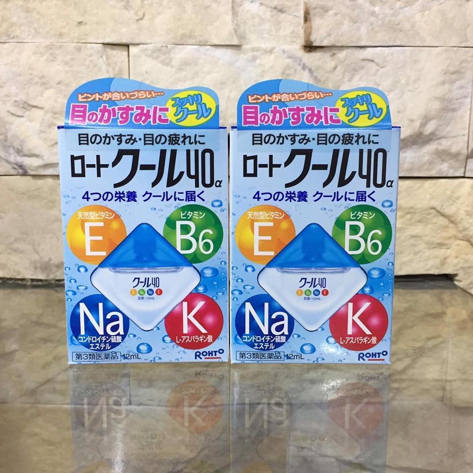 Thuốc Nhỏ Mắt Rohto Vitamin Nhật Bản