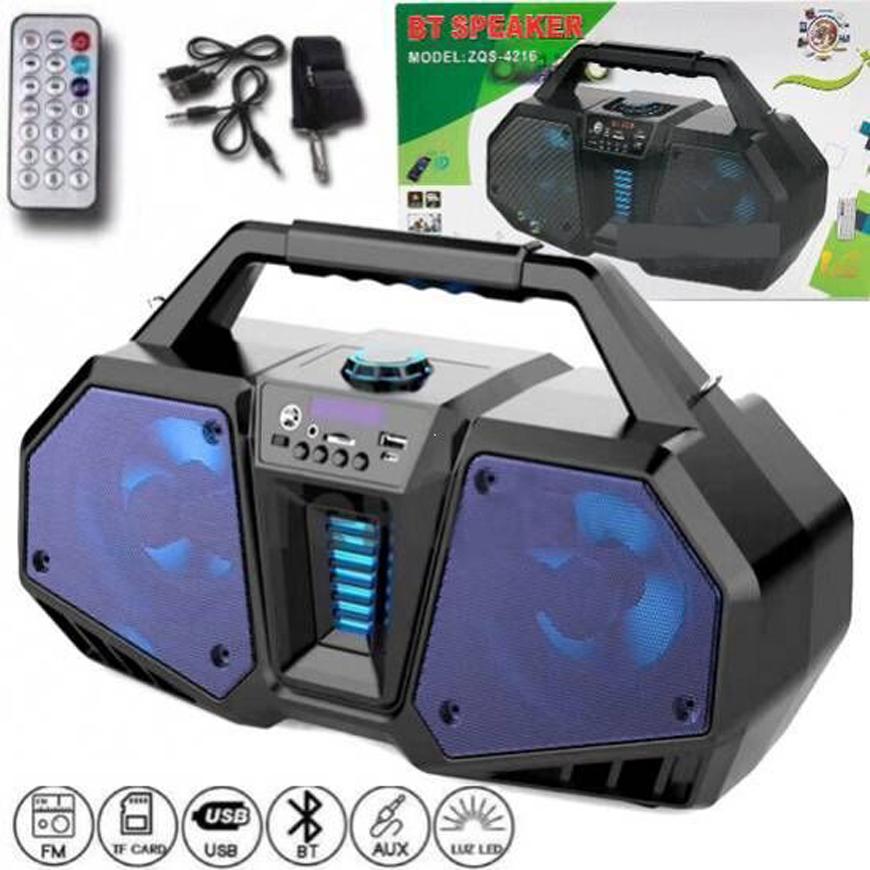 ( XẢ HÀNG GIÁ TỐT ) Loa karaoke công suất lớn - Loa SUB Hàng Bãi Mỹ - Loa Kẹo Kéo - Loa Karaoke Gia Đình Công Xuất Lớn - Mua ngay Loa Karaoke Bluetooth ZQS 4216 Tặng Kèm Micro BẢO HÀNH 12 THÁNG