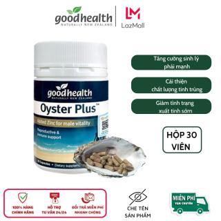 Tinh chất Hàu Goodhealth Oyster Plus, tăng cường sức khỏe, sinh lý nam giới, hôp 30 viên thumbnail
