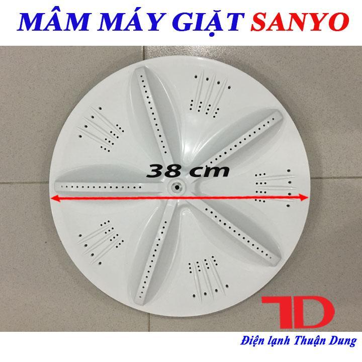 Mâm Máy Giặt SANYO Trắng 38 Cm
