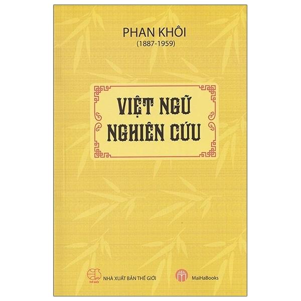 Mua Fahasa - Việt Ngữ Nghiên Cứu